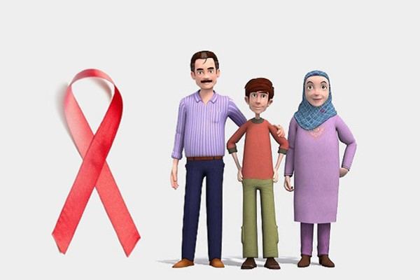Animation on Preventing AIDS for Families