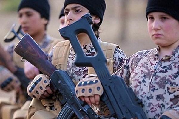 بیانیه محکومیت سوءاستفاده داعش از کودکان در جنگ